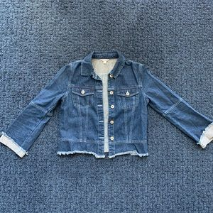 BB Dakota Frayed Jean Jacket
